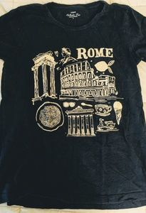 J Crew Women's Rome Collector Tee